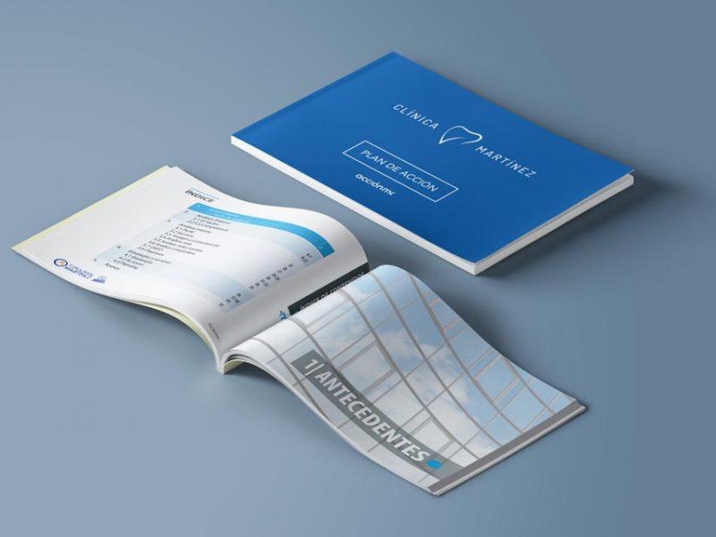 Un plan de marketing estratégico para una clínica dental en formato de papel de Clínica Martínez