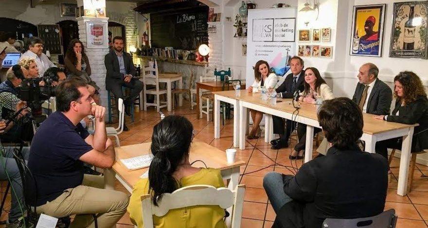 Evento del Club Marketing Social de Huelva en 2017