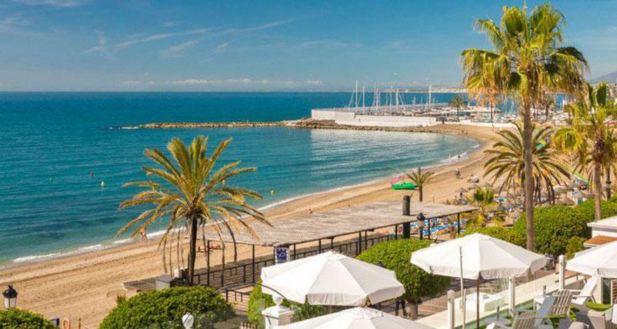 Foto de la playa de Marbella