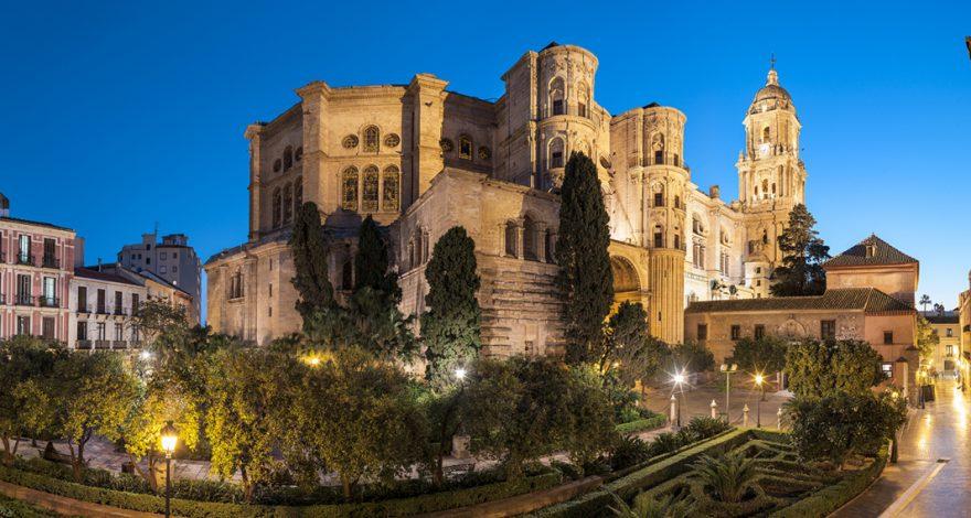 Parte trasera de la Catedral de Málaga