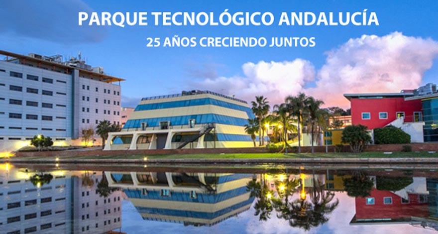 evolución del parque tecnológico de Andalucía