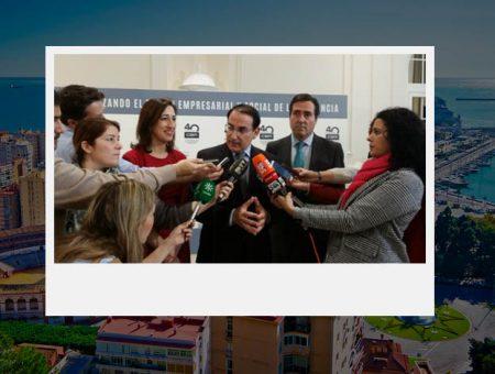 Cuarenta años de la confederación de empresarios de Málaga