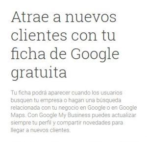 Ficha de Google