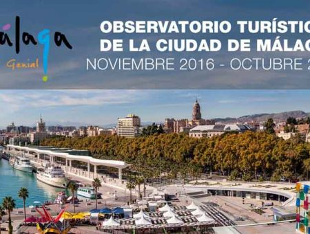 Which is the average rating of tourists about Málaga?
