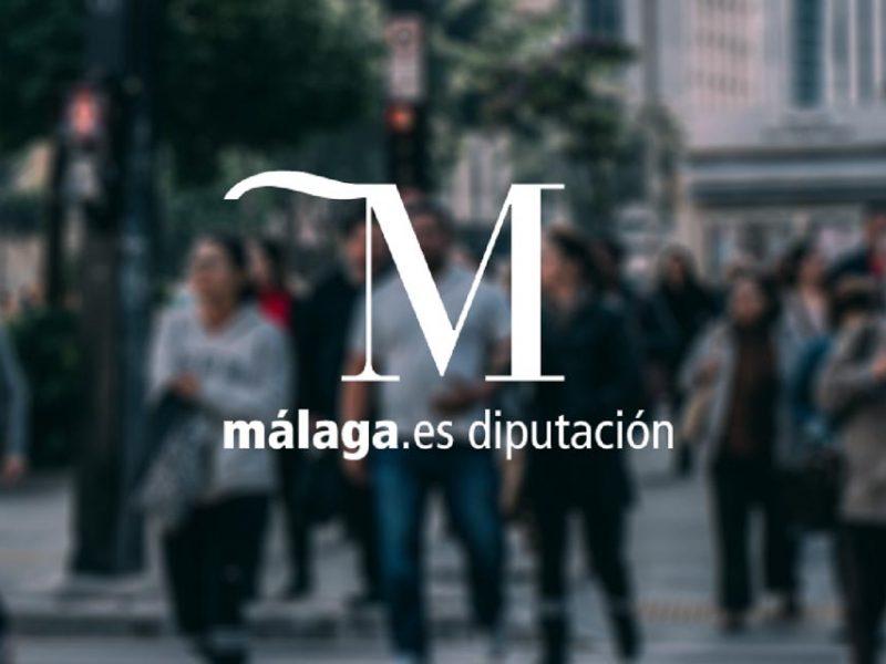 Logo de la diputación de Málaga