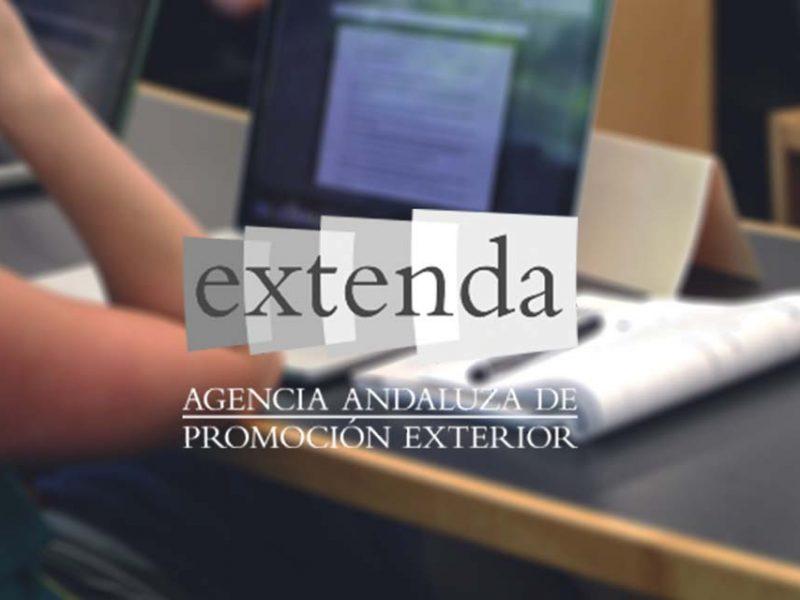 Logo de EXTENDA