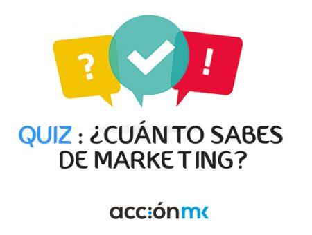 QUIZ: ¿Cuánto sabes de marketing?