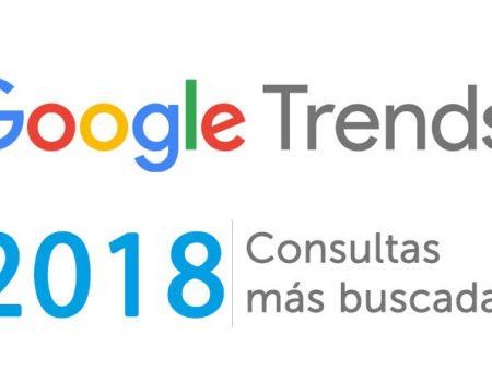 ¿Cuáles han sido las consultas más buscadas en 2018?
