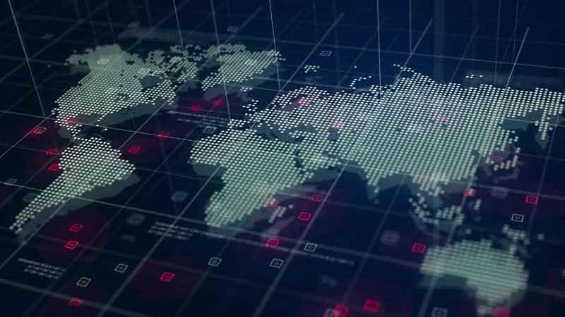 Mapa del mundo estilo digital, Importancia del SEO en el proceso de Internacionalización